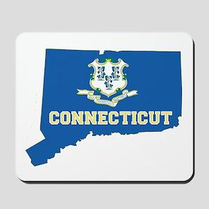 Connecticut Flag Mousepad