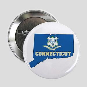 """Connecticut Flag 2.25"""" Button"""