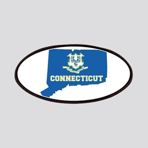 Connecticut Flag Patches
