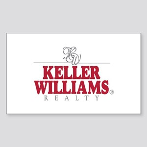 Keller Williams Realty Rectangle Sticker