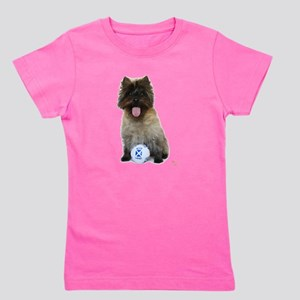 Cairn Terrier Football Scotland Girl's Tee