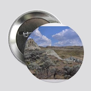 """JOHN DAY FOSSIL BEDS LANDSCAPE 2.25"""" Button"""