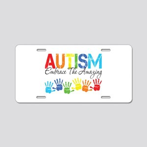 EmbraceTheAmazing Aluminum License Plate
