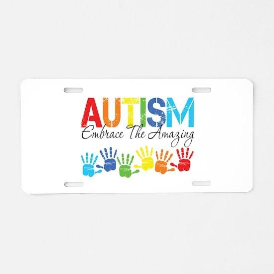 EmbraceTheAmazing Aluminum License Plate