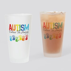EmbraceTheAmazing Drinking Glass