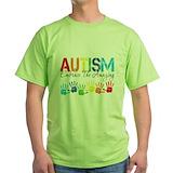 Embrace autism Green T-Shirt