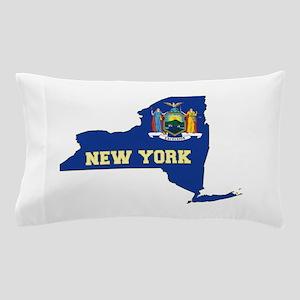 New York Flag Pillow Case