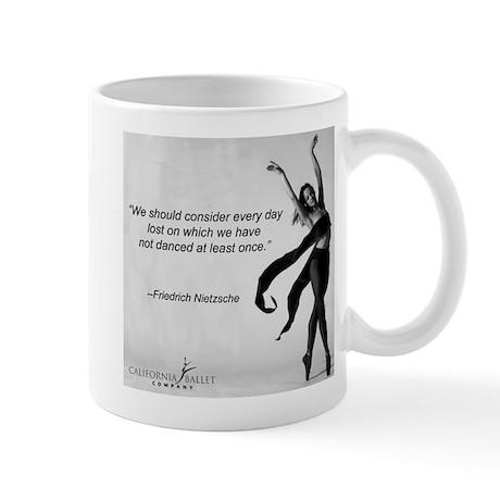 Nietzche Dance Quote Mug