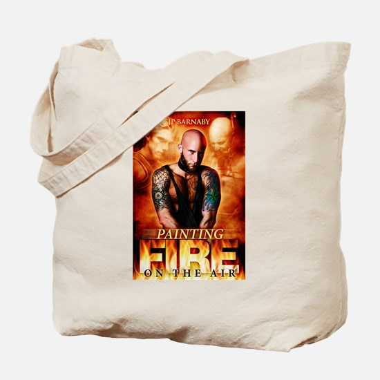 Painting Fire on the Air Tote Bag