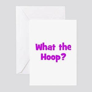 What the Hoop? Greeting Cards (Pk of 10)