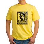 Pennsylvania Coal WPA 1938 Yellow T-Shirt