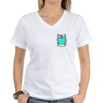 Catrel Women's V-Neck T-Shirt