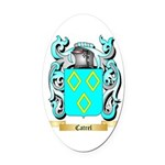 Catrel Oval Car Magnet