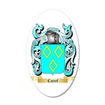 Catrel 20x12 Oval Wall Decal