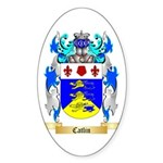 Catlin Sticker (Oval 10 pk)