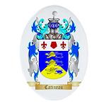 Catineau Ornament (Oval)