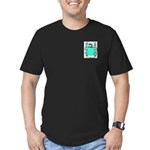 Cathrall Men's Fitted T-Shirt (dark)