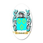 Cathrall 35x21 Oval Wall Decal