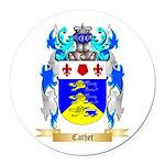 Cathet Round Car Magnet