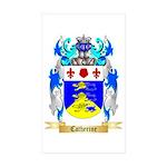 Catherine Sticker (Rectangle 10 pk)