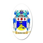 Catherine 20x12 Oval Wall Decal