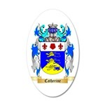 Catherine 35x21 Oval Wall Decal