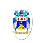 Catherin 20x12 Oval Wall Decal