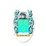 Catherall Oval Car Magnet