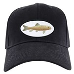 White Sucker fish 2 Baseball Hat