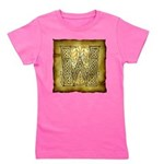 Celtic Letter W Girl's Tee