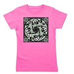 Celtic Spiral Stepping Stone Girl's Tee