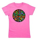 Celtic Stained Glass Spiral Girl's Tee