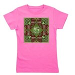 Celtic Dragon Labyrinth Girl's Tee