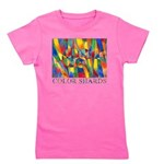 Color Shards Watercolor Girl's Tee