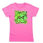 Through the Leaves Watercolor Girl's Tee