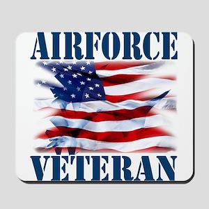 Airforce Veteran copy Mousepad