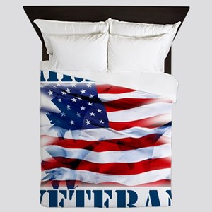 Airforce Veteran copy Queen Duvet