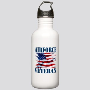 Airforce Veteran copy Water Bottle