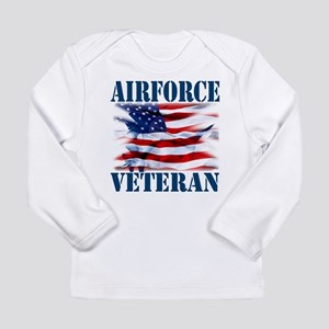 Airforce Veteran copy Long Sleeve T-Shirt