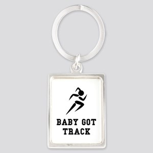 Baby Got Track Keychains