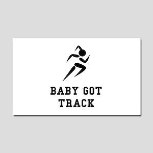 Baby Got Track Car Magnet 20 x 12