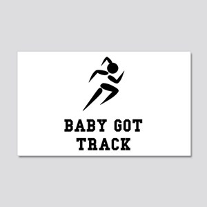 Baby Got Track Wall Decal
