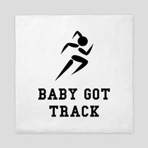 Baby Got Track Queen Duvet