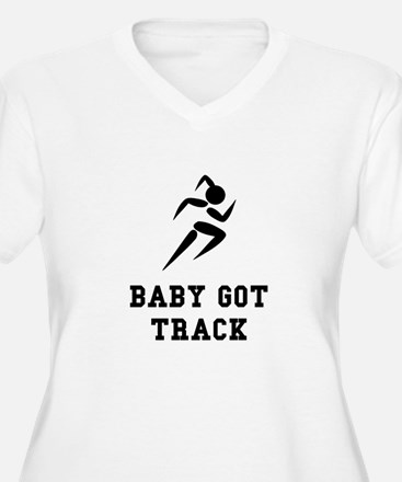 Baby Got Track Plus Size T-Shirt