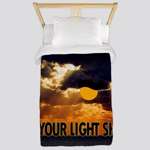 LIGHT Twin Duvet Cover
