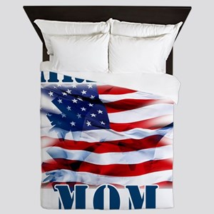 Airforce Mom Queen Duvet