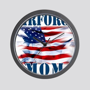 Airforce Mom Wall Clock