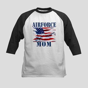 Airforce Mom Baseball Jersey