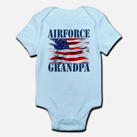 Airforce Grandpa Body Suit