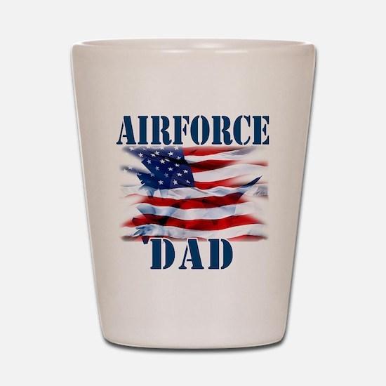 Airforce Dad Shot Glass